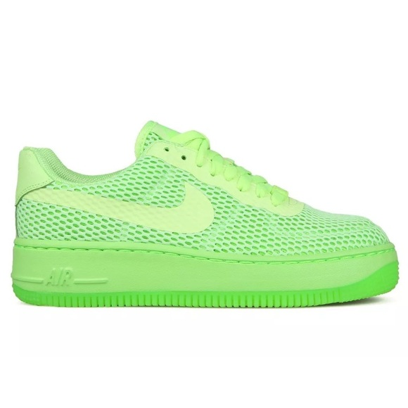 timeless design bd149 190c3 Nike Women's AF1 Low Upstep Ghost Green Sneakers